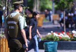 carabineros fuerzas de orden protesta