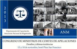Congreso Ministros de Cortes de Apelaciones