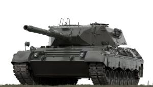 leopard tanque arma