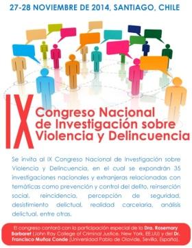 IX congreso violencia y delincuencia
